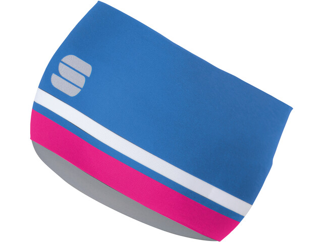 Sportful Diva Headband victorian purple/bubble gum/orange sdr